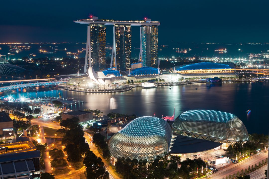 "Foreign law firms ""flying into"" Singapore"