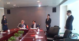 China and Jersey sign accord to boost foreign investment