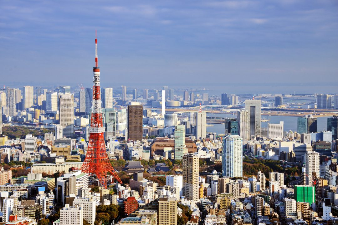 Tokyo Tower beautiful view