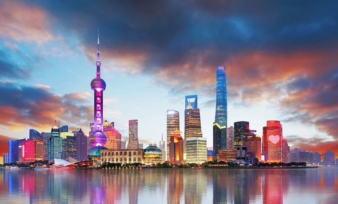 Famous city of china shanghai pic