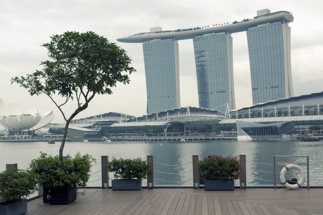 Beautiful pic of marina bay sand