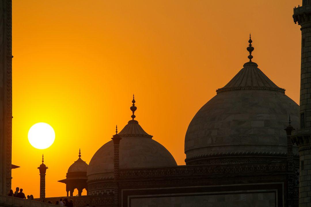 Dome pics in sun set