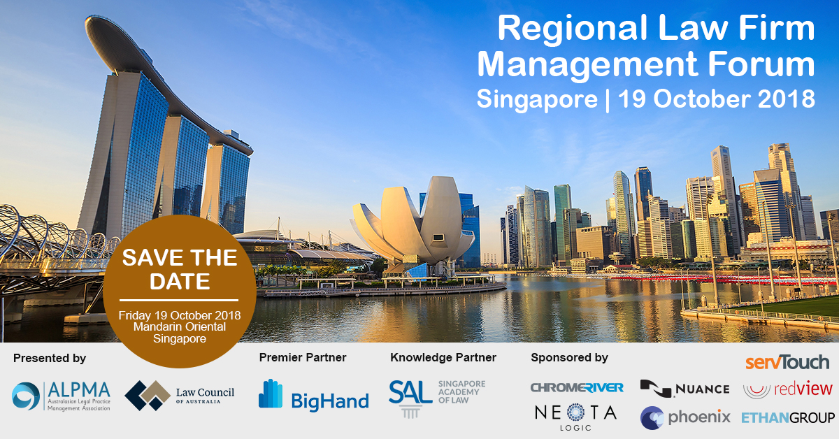Singapore 2018 Social Media Save the Date