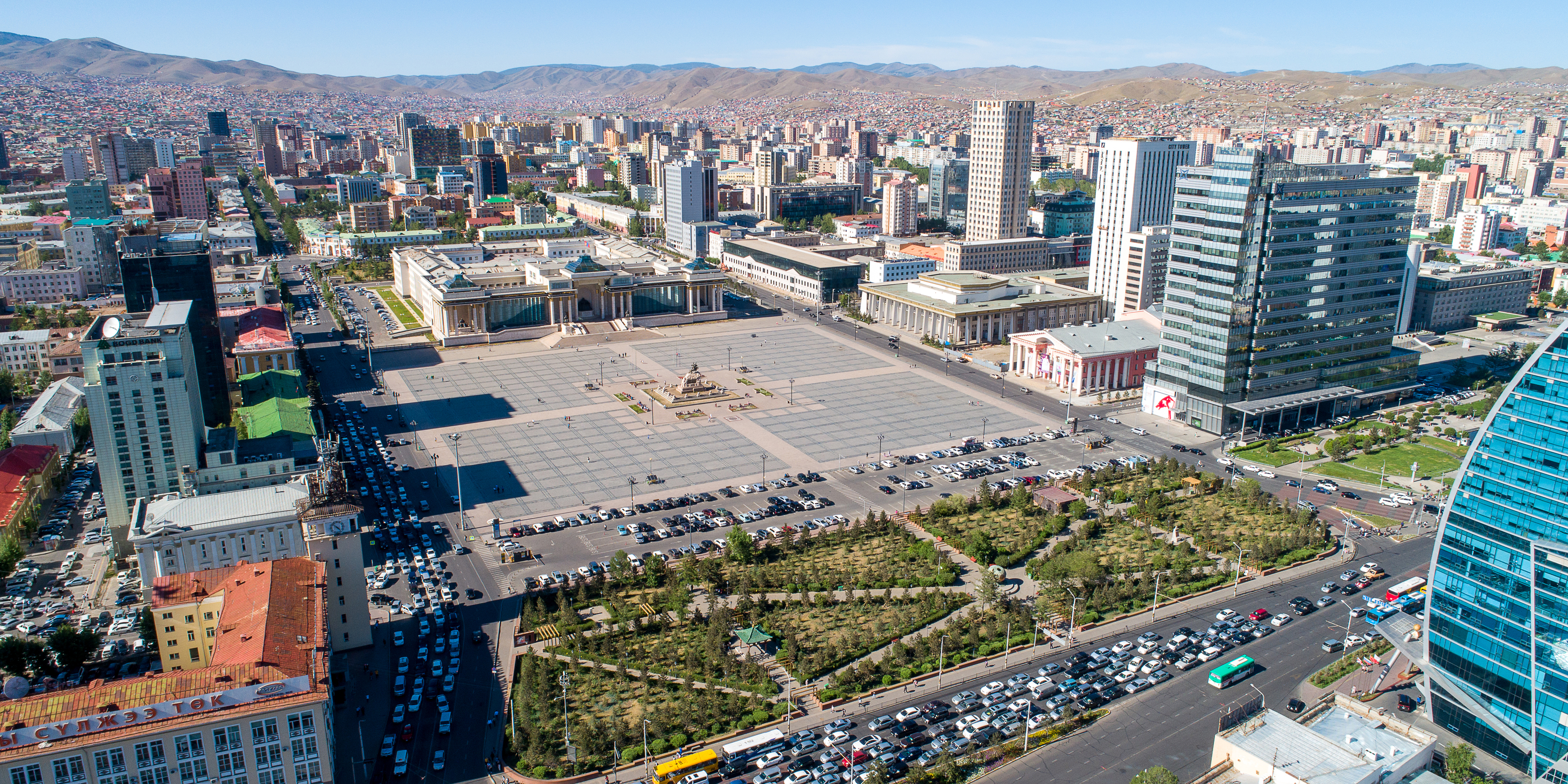 Ulaanbaatar capital on mangolia