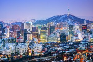 Seoul capital of south korea